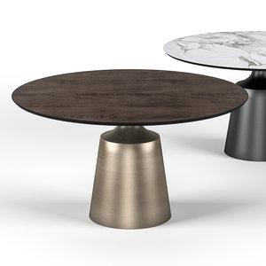 3D table cattelan yoda model