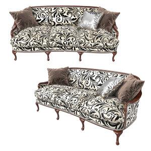 sofa shelley angelo cappellini 3D