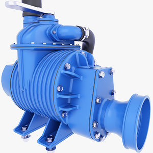 3D pump sewage