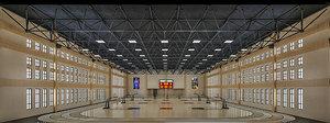 gym interior 3D model