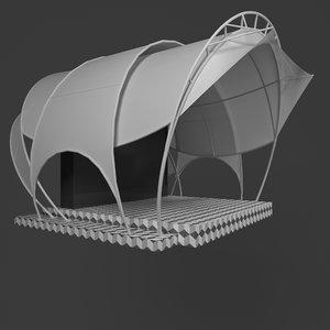 3D stage membran