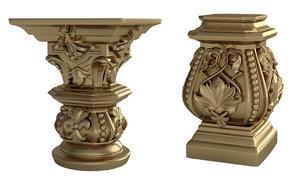 column pilaster model