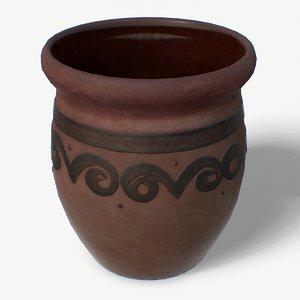 3D scan clay jug clayjug model
