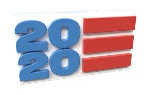 3D model 2020 flag