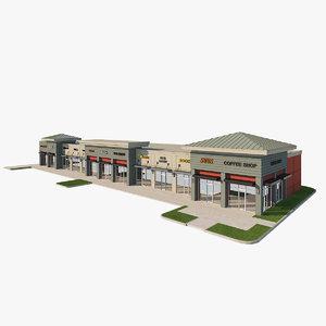 3D retail center