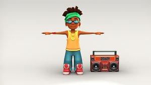 boy character model