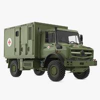 Mercedes Unimog 4023 Ambulance Vehicle