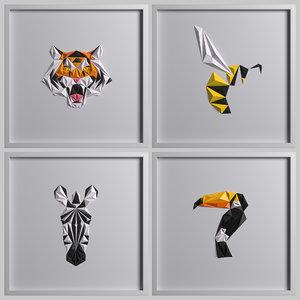 3D paper artwork 02