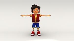 boy5 character model