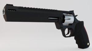 magnum gun 3D