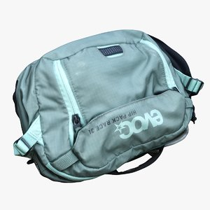 hip pack bag 3D model
