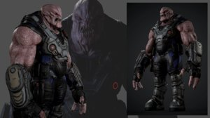 creature sci-fi 3D