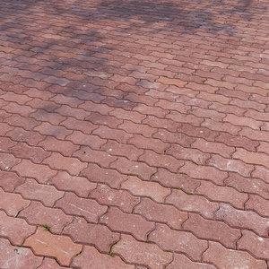 3D floor tiles model