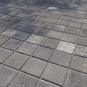 ultra realistic floor tiles model