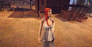 character elegant woman 3D