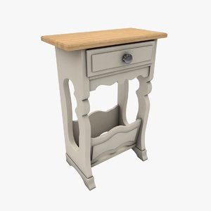 table console 3D model