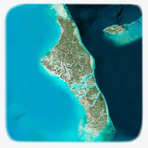 3D bahamas islands photorealistic 16k
