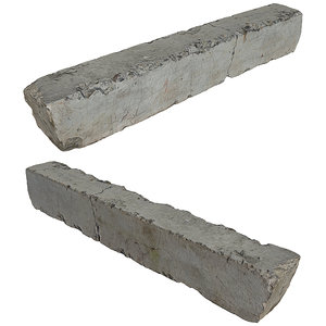 3D concrete block