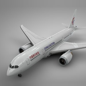 3D boeing 787 dreamliner china