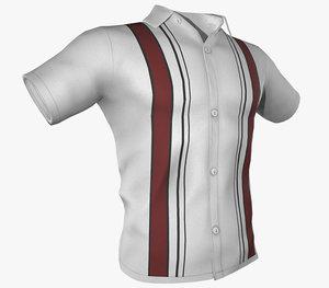 summer shirt 4 3D