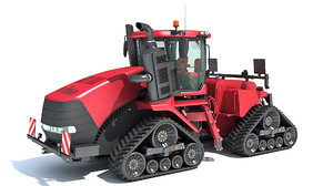 3D tracked articulated tractor model