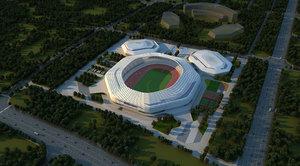 grand stadium 3D