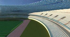 3D model grand stadium