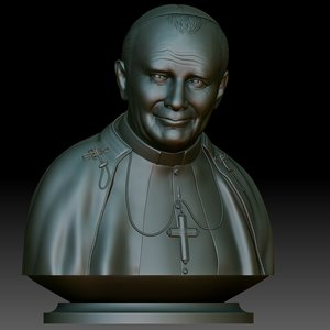 pope john paul ii model