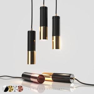 3D pendant light ike