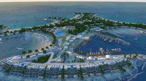 3D model dubai seaview villa