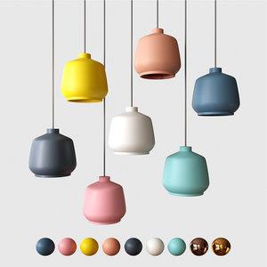 3D miniforms kiki pendant lamp