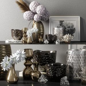 3D model decorative set 08