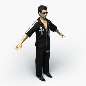 boryokudan 0003 3D model