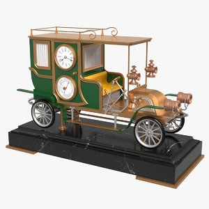 industrial automaton car clock model