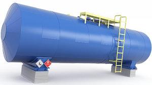 tank bitumen mazut 3D model
