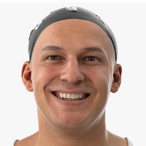 3D marcus human head smile