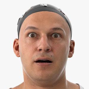 marcus human head pose 3D model