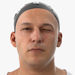 marcus human head wink 3D
