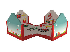 magnetic wall child 3D model