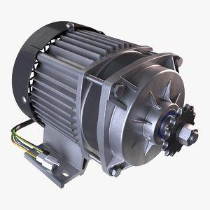brushless dc bldc motor 3D model