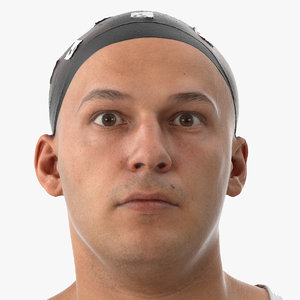 3D marcus human head outer