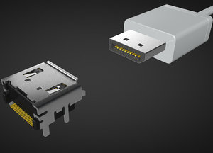 connector display model