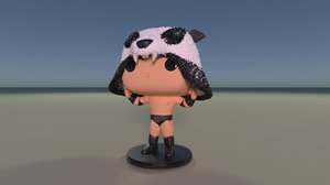 3D model pop! sammy guevara panda