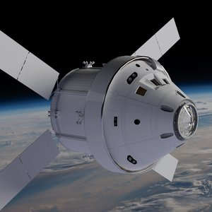 orion space capsule 3D