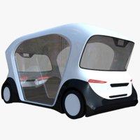 Bosch driverless minibus