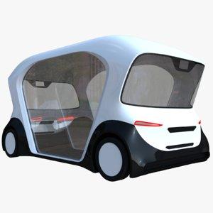 3D bosch minibus