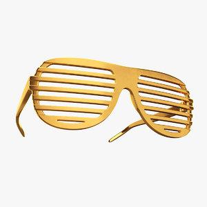 shutter shade glasses 3D
