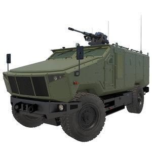 armored military vehicle v6 model