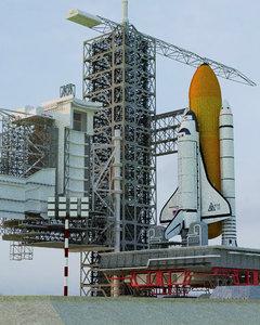 3D launch complex