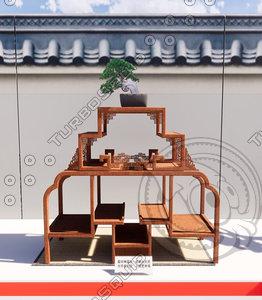 bonsai 1 japan exhibition 3D
